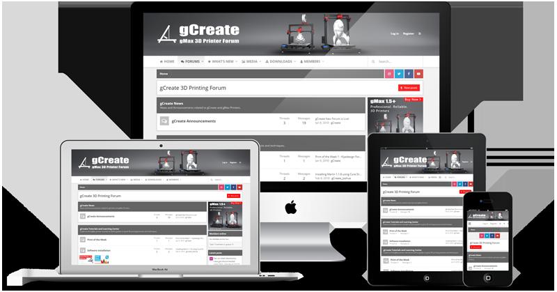 gCreate 3D